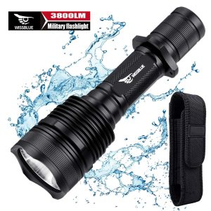 WissBlue H1 Tactical LED Flashlight-1