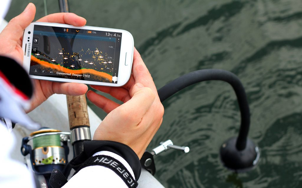 Fish finder with Wi-Fi