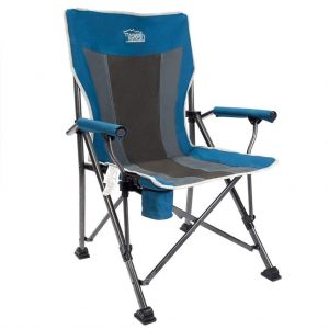 X-LARGE Heavy Duty Fishing Camping Chair Cup Holder Outdoor Portable Fold Sport
