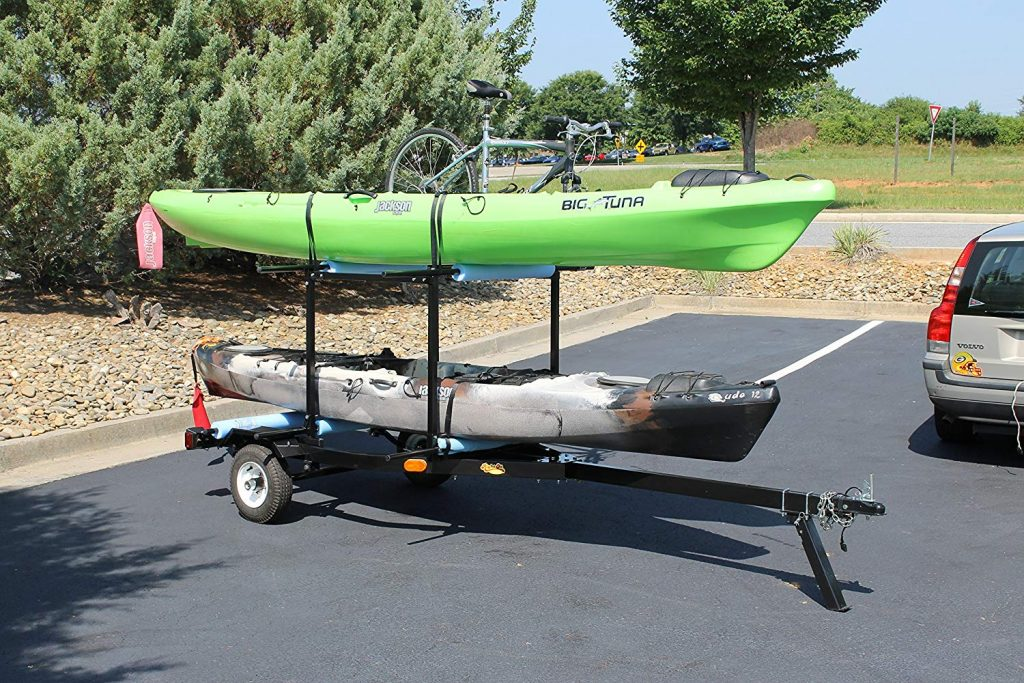 7 Best Kayak Trailers – Reviews and Buying Guide