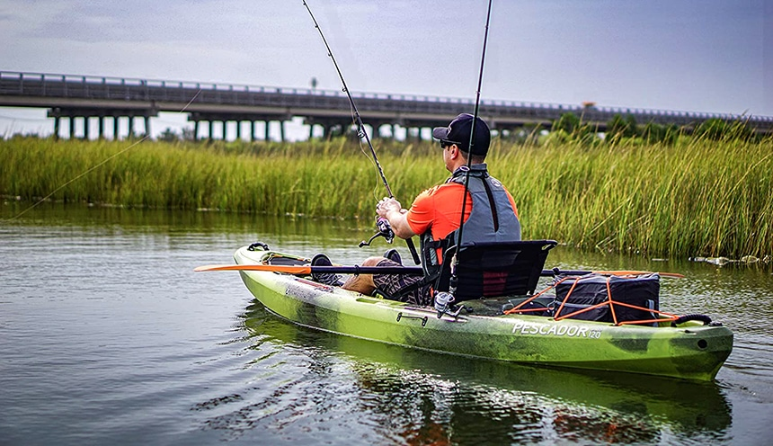 8 Best Kayaks for Big Guys – Plenty of Room for You and Your Gear!