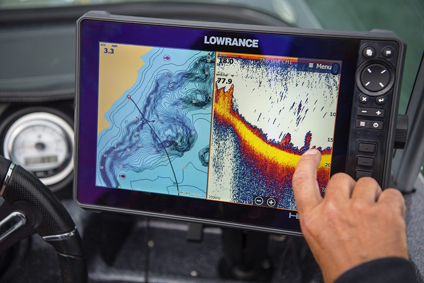 How to Read a Lowrance Fish Finder?
